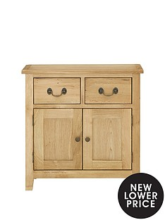 london-oak-ready-assembled-compact-sideboard