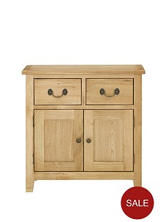 london-solid-oak-ready-assembled-narrow-compact-sideboard