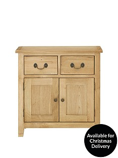 luxe-collection---london-oak-ready-assembled-compact-sideboard