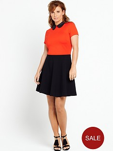 coleen-coleen-rooney-cut-work-collar-dress