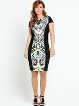 Illusion Bodycon Dress