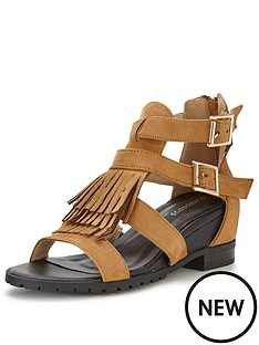 glamorous-glamorous-fringed-low-wedge-sandal