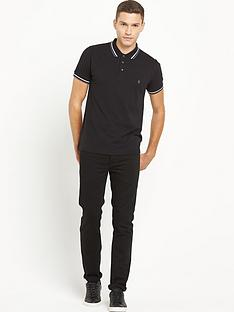 french-connection-tipped-polo-shirt