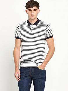 french-connection-single-stripe-polo-shirt