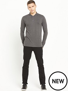 french-connection-long-sleeve-polo-shirt