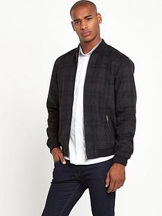 taylor-reece-check-mens-bomber-jacket