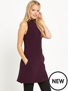 miss-selfridge-high-neck-a-line-swing-dress