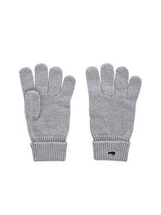lacoste-lacoste-ribbed-gloves
