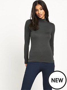 vila-long-sleeved-roll-neck-top