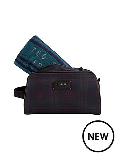 ted-baker-ted-baker-washbag-and-towel-set