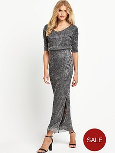 vila-lurexnbspmaxi-dress