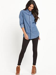 vila-vicaro-oversized-denim-shirt