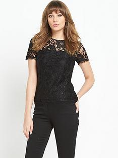 definitions-definitions-lace-high-neck-top
