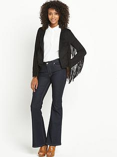 definitions-suedette-fringed-jacket