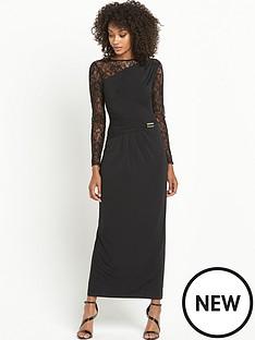 definitions-petite-long-sleeve-lace-maxi-dress