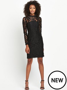 definitions-long-sleeve-bow-back-lace-dress