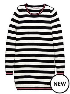 freespirit-stripe-knitted-dress