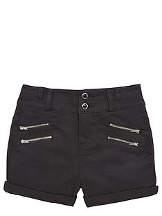 freespirit-girls-high-waistednbspdenim-shorts-with-zips