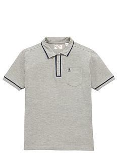 penguin-boys-tipped-collar-polo-shirt