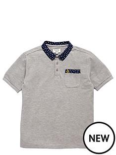 penguin-penguin-print-collar-polo-shirt