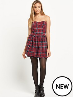 superdry-50s-prom-plaid-dress