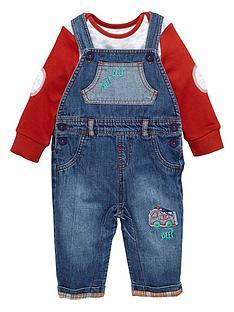 ladybird-baby-boys-denim-dungarees-and-t-shirt-set-2-piece