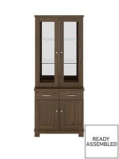 consort-consort-belvoir-ready-assembled-2-door-glass-display-unit