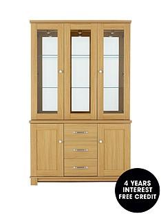 consort-consort-belvoir-ready-assembled-3-door-glass-display-unit