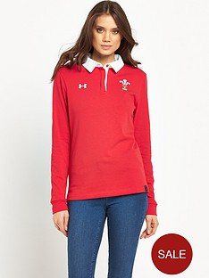 under-armour-welsh-rugby-union-womens-ls-polo