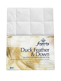 fogarty-duck-feather-and-down-mattress-topper