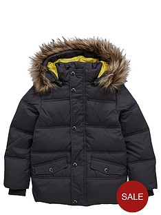 name-it-boys-fauxnbspfur-hooded-down-filled-jacket-grey