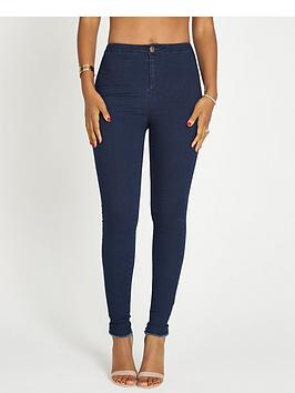 rochelle-humes-high-waistednbspskinny-jeans