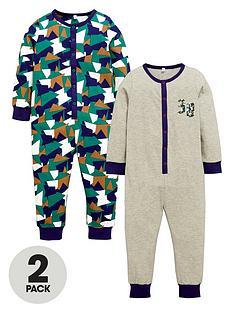 ladybird-boys-camo-sleepsuits-2-pack
