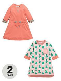 ladybird-girls-flower-print-jersey-dresses-2-pack-nbsp--12-months-7-years
