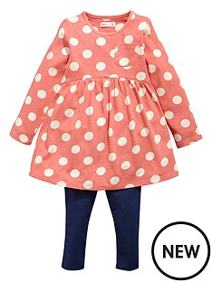 ladybird-girls-jersey-spot-dress-and-leggings-set-2-piece