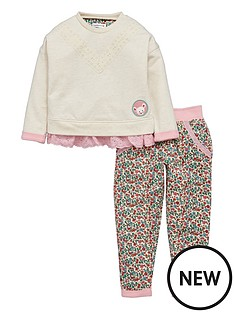 ladybird-girls-fashion-lace-trim-sweat-top-and-floral-joggers-set-2-piece-12-months-7-years