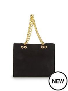 chain-detail-shoulder-bag