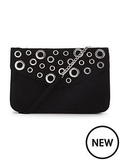rivet-detail-envelope-top-shoulder-bag