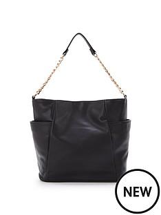 chain-detail-slouch-shoulder-bag