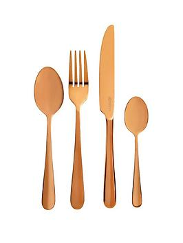 viners-rose-gold-titanium-16-piece-cutlery-set