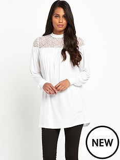 south-lace-yoke-tunic
