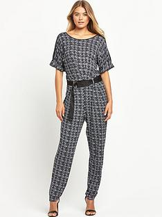 south-print-casual-d-ring-jumpsuitnbsp
