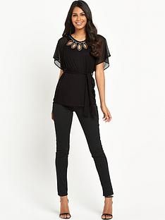 south-jersey-fluted-sleeve-beaded-topnbsp