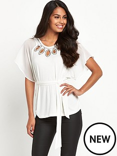 south-jersey-fluted-sleeve-beaded-top
