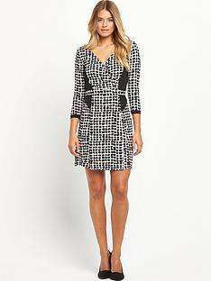 south-tall-printed-jersey-wrap-workwear-dressnbsp