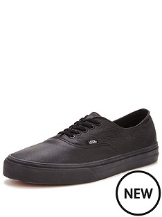 vans-authentic-decon-leather-trainers-black