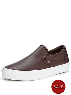vans-classic-slip-on-leather-burgundy