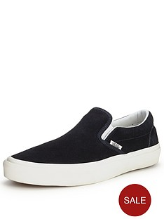 vans-vans-classic-slip-on-vintage-trainers-navy