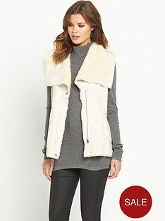 south-faux-shearling-giletnbsp