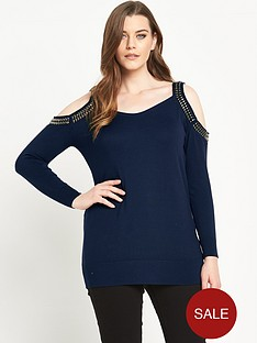 so-fabulous-embellished-cold-shoulder-jumper